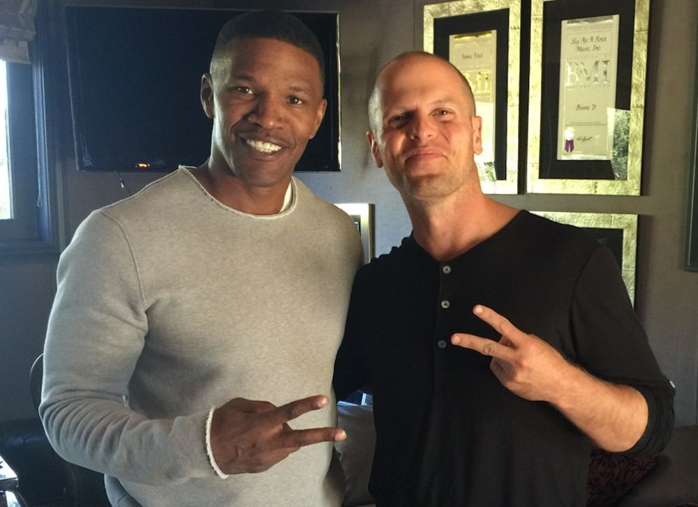 Jamie Foxx with Tim Ferriss